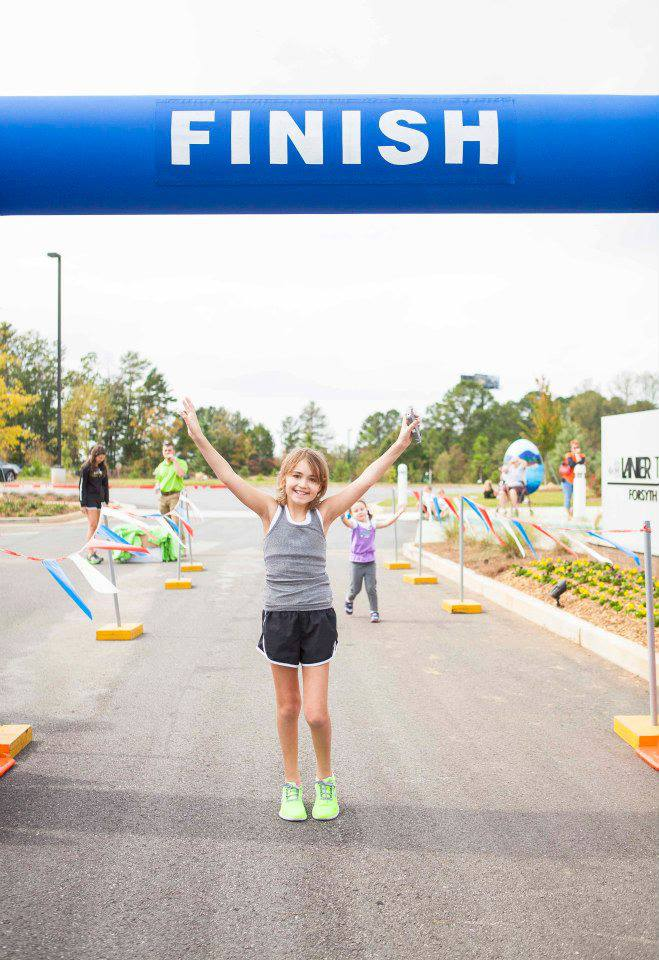 Lily's Run at Vickery Village 2016