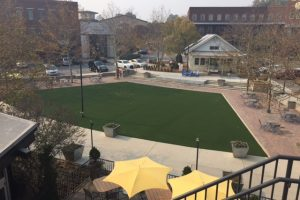Vickery Village Courtyard Improvements Complete