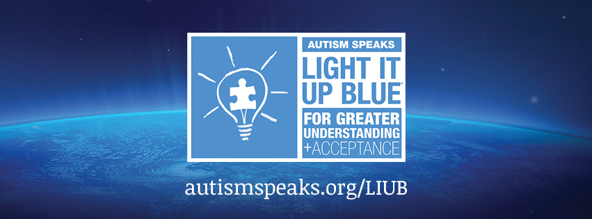 Light It Up Blue   Autism Speaks April Is Autism Awareness Month At Vickery  Village #liub