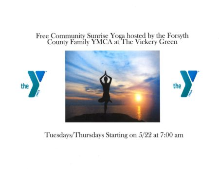 Sunrise Yoga @ Vickery Village